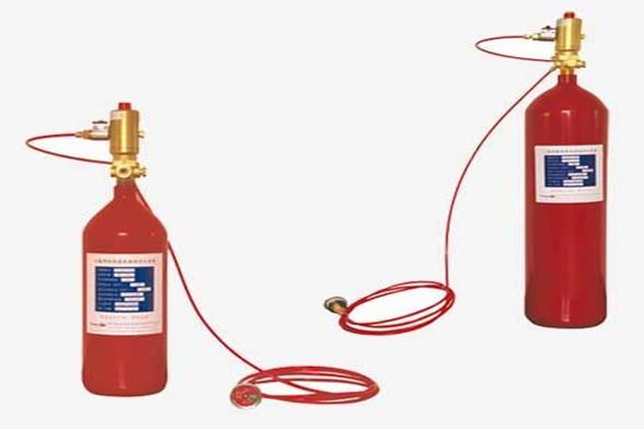 感温自启动灭火装置
